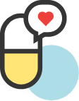 personalized and functional medicine pill icon
